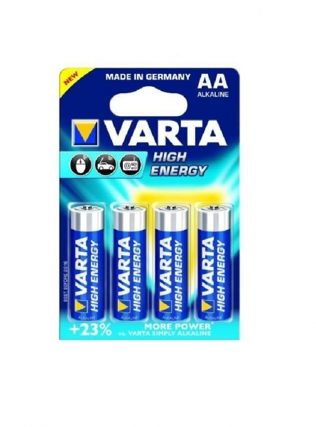 AA - alcaline HIGH ENERGY VARTA